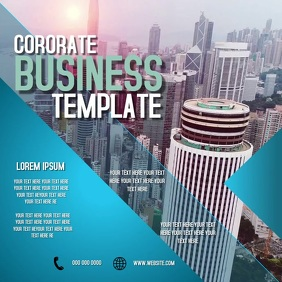 CORPORATE COMPANY BUSINESS TEMPLATE Square (1:1)