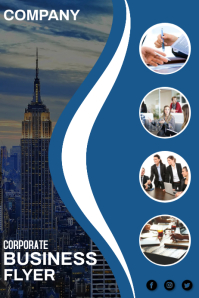corporate Plakat template