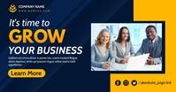 corporate facebook advertising Facebook-Anzeige template