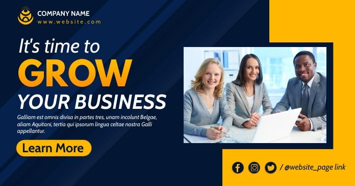 corporate facebook advertising template