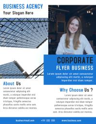 Corporate Flyer Business Template Design