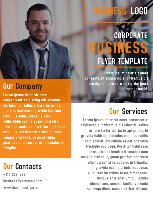 Corporate Flyer Business Template Design