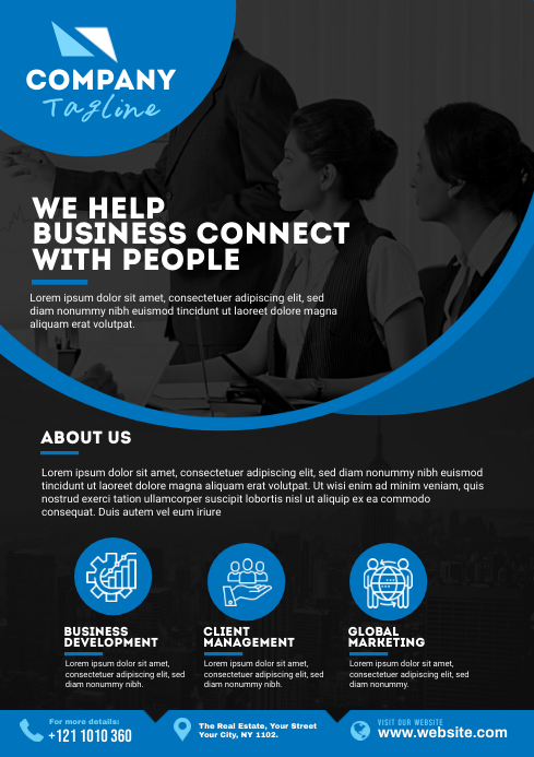 Corporate Flyer A4 template