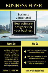 corporate flyer template,small business flyer