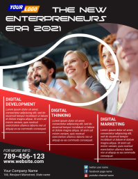 Corporate flyer template 2021