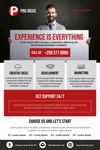 Corporate Flyer Template Poster