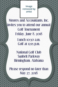 Corporate Golf Tournament Game Golf Club dinner dance