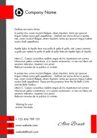 corporate letterhead A4 template