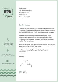 Corporate Letterhead Template A4