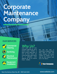 Corporate Maintenance Company flyer