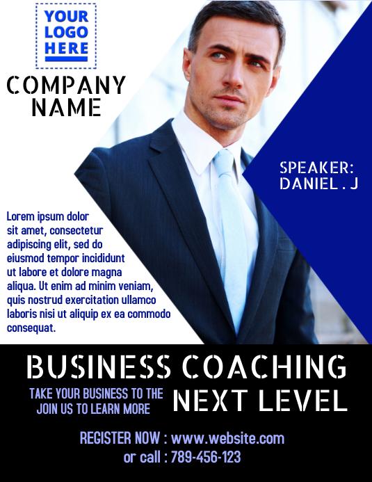 Corporate Poster 传单(美国信函) template