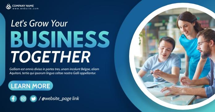 corporate professional services facebook adve template