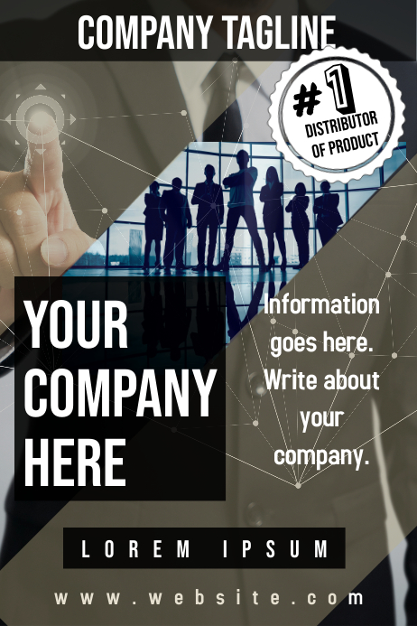 Corporate Promotional Poster