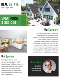 Corporate Real Estate Flyer Template Design