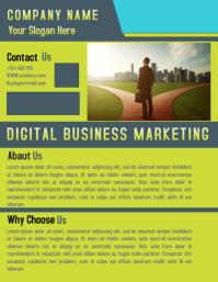 Corporate.Business flyer template design