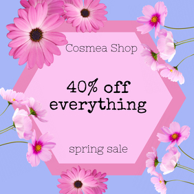 Cosmea Shop Sale