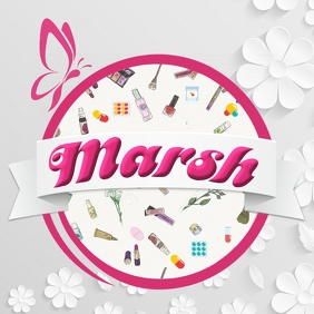 Cosmetic Logo template