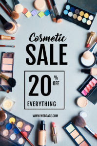 COSMETIC MAKE UP SALE