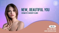 Cosmetic Surgery Clinic Digitale Vertoning (16:9) template