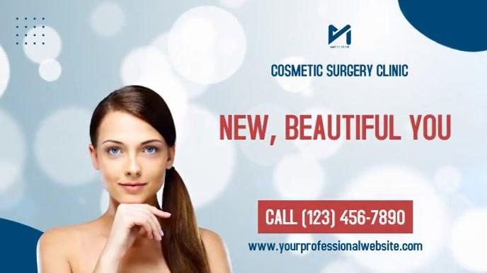 Cosmetic Surgery Clinic Affichage numérique (16:9) template