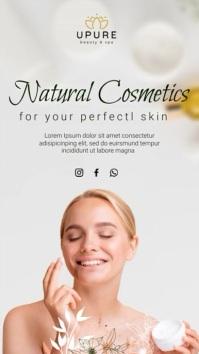 cosmetics История на Instagram template