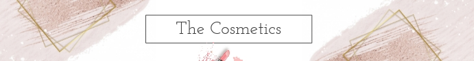 Cosmetics Etsy Banner Etsy-banner template