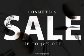Cosmetics Sale Template