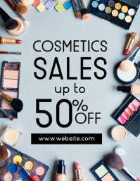 cosmetics sales event