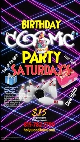 Cosmic Birthday Parties