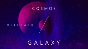 Cosmos Galaxy Youtube Thumbnail