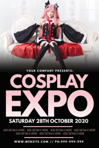 Cosplay Poster