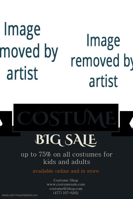 costume sale