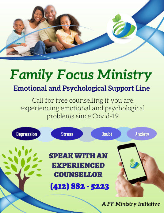 Counselling Ministry Pamflet (Letter AS) template