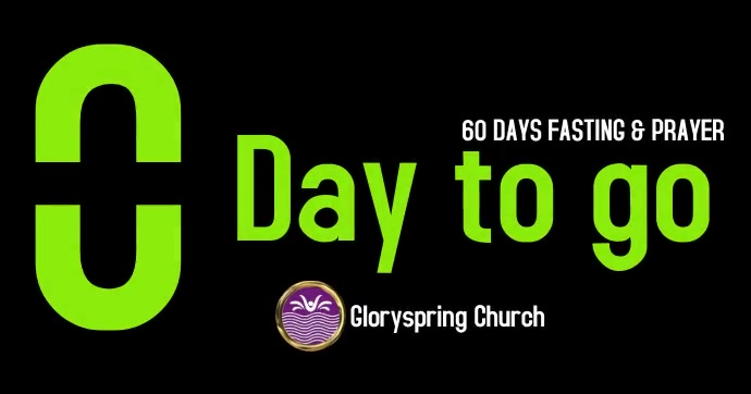 Countdown church background Facebook Shared Image template