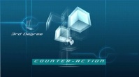 Counter-Action Animation Cube Digital. template