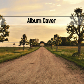 COUNTRY ALBUM COVER ปกอัลบั้ม template
