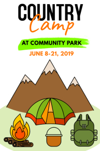 Country Camp Poster