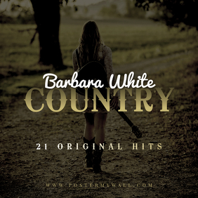 Country CD Cover template