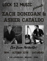 Country Music Concert Flyer Template