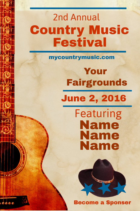 copy of country music festival