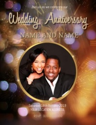 COUPLE WEDDING Celebration Event Template
