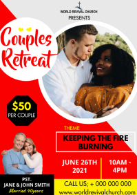 Couples Retreat A3 template