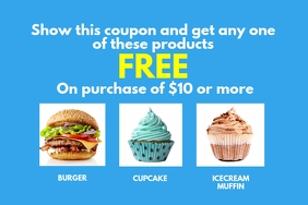 Coupon Label template
