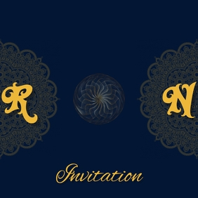 Cover invitation Template