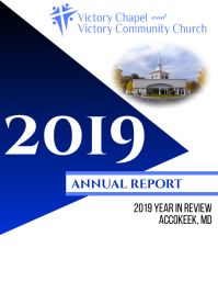 Church Annual Report Cover Page