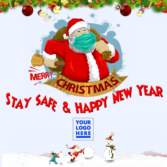 Covid 19 Christmas greeting