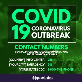 covid 19 contact numbers prevention post