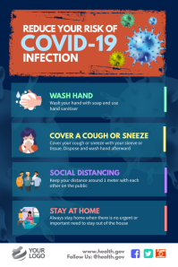 Covid-19 Corona Virus Awareness Poster