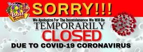 COVID-19 coronavirus Foto Sampul Facebook template