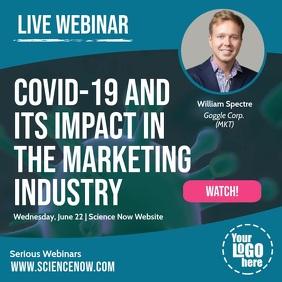 Covid 19 Coronavirus Live Webinar Online Post